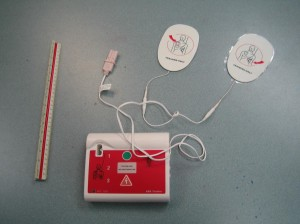 AED Trainer for First Aid and CPR