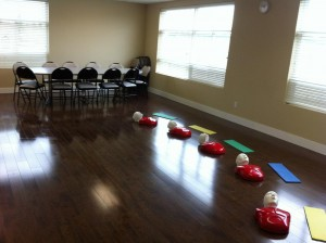 workplace approved First Aid Training Room in Windsor