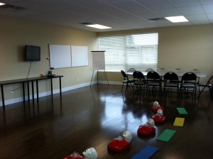 Childcare First Aid Classroom in Victoria